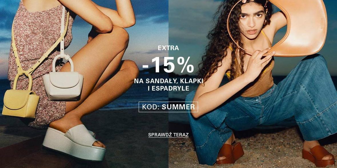 CCC: Kod: -15% dodatkowe na sandały, klapki i espadryle