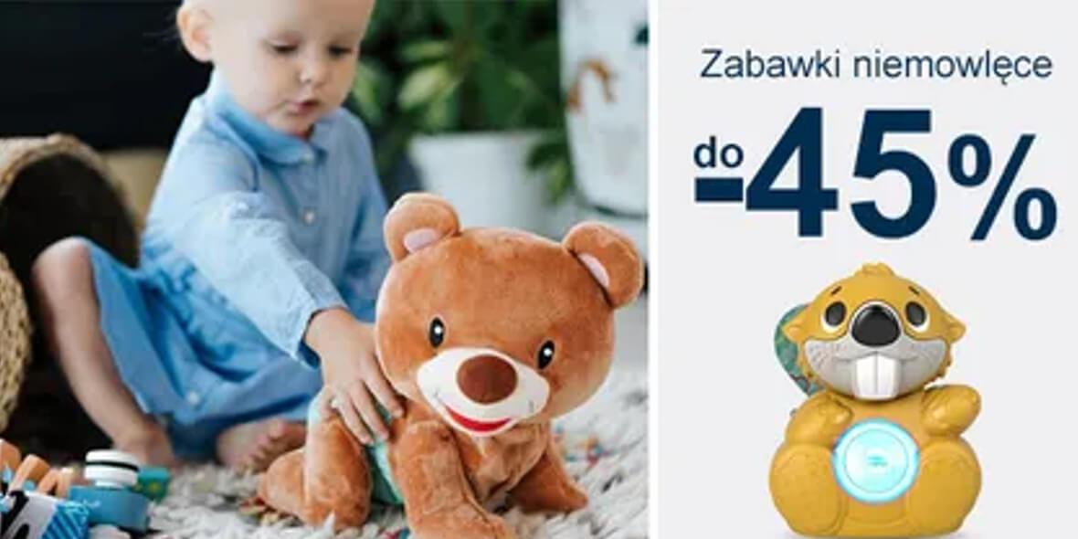 Smyk: Do -45% na zabawki niemowlęce 04.05.2021
