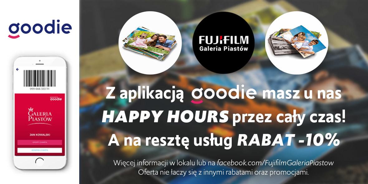 FujiFilm: -10% na usługi w aplikacji mobilnej 30.09.2020