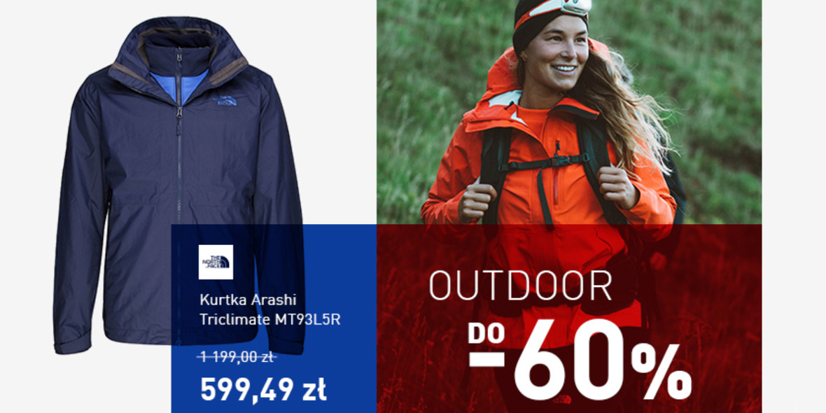 Intersport: Do -60% na outdoor 05.03.2021