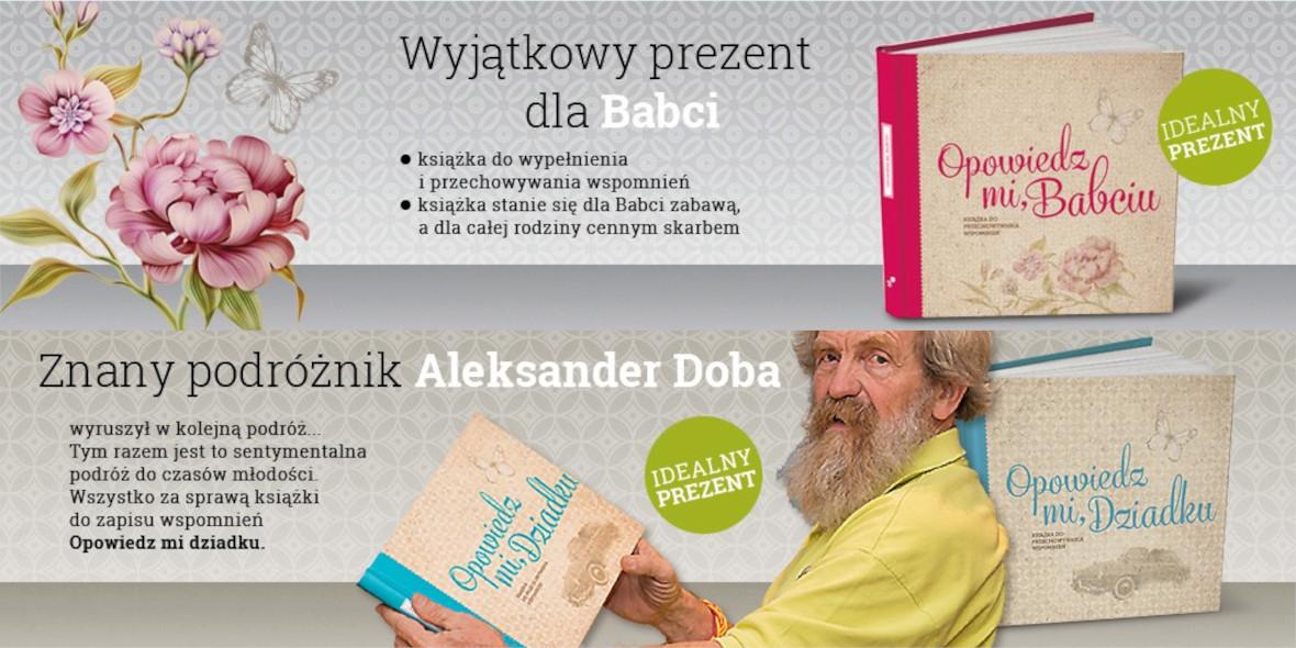 MoiDziadkowie: Prezent z okazji Dnia Babci i Dziadka