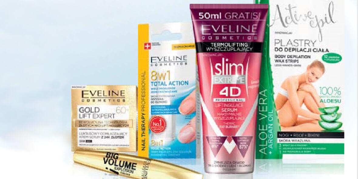 na wszystkie kosmetyki Eveline