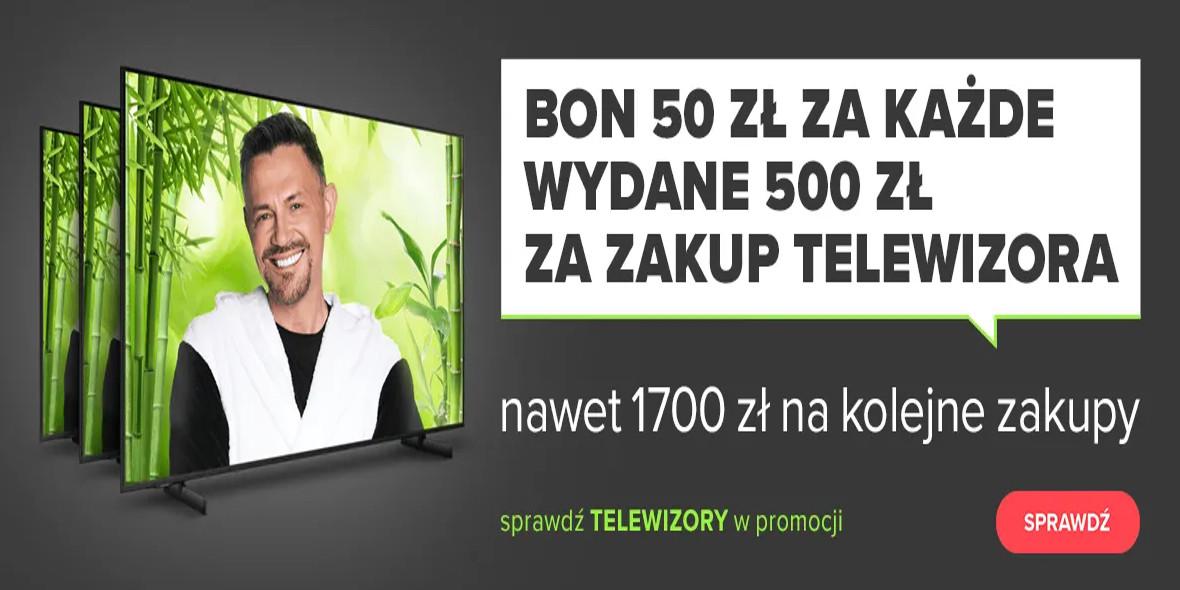 Neonet: -50 zł za każdy wydane 500 zł na telewizory 23.10.2021