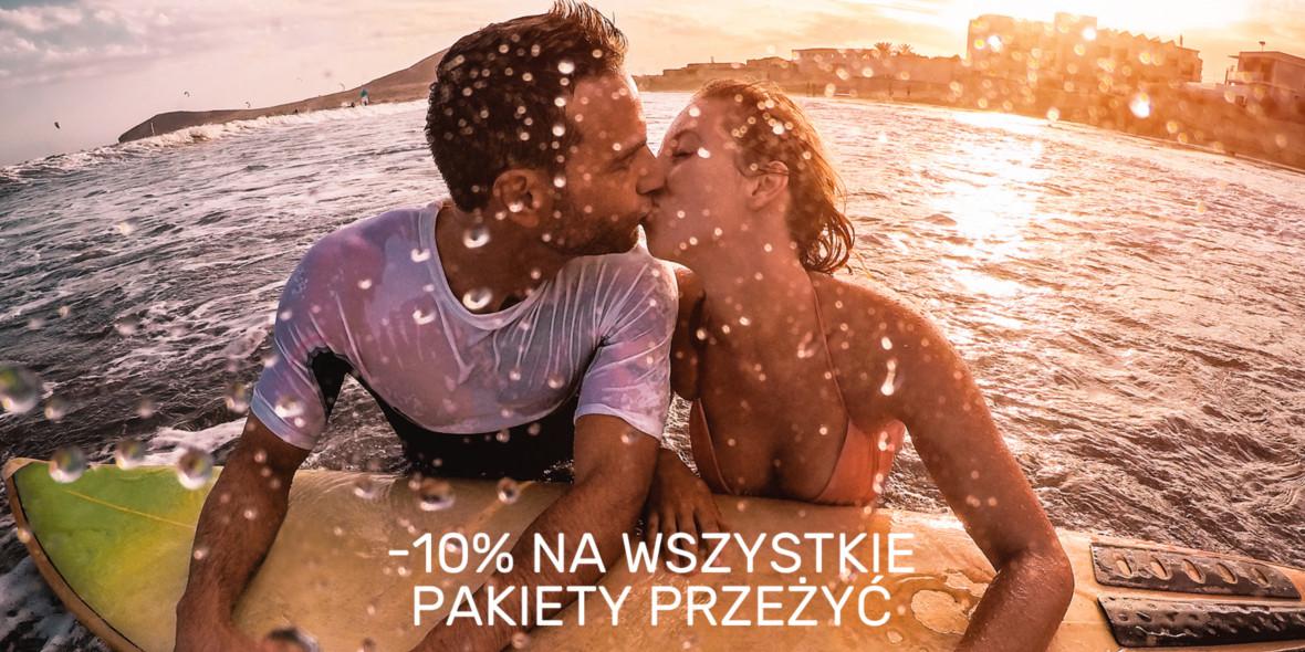 WyjatkowyPrezent.pl: -10% na wszystkie Pakiety Przeżyć
