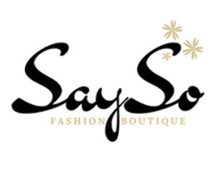 Logo SaySo Boutique