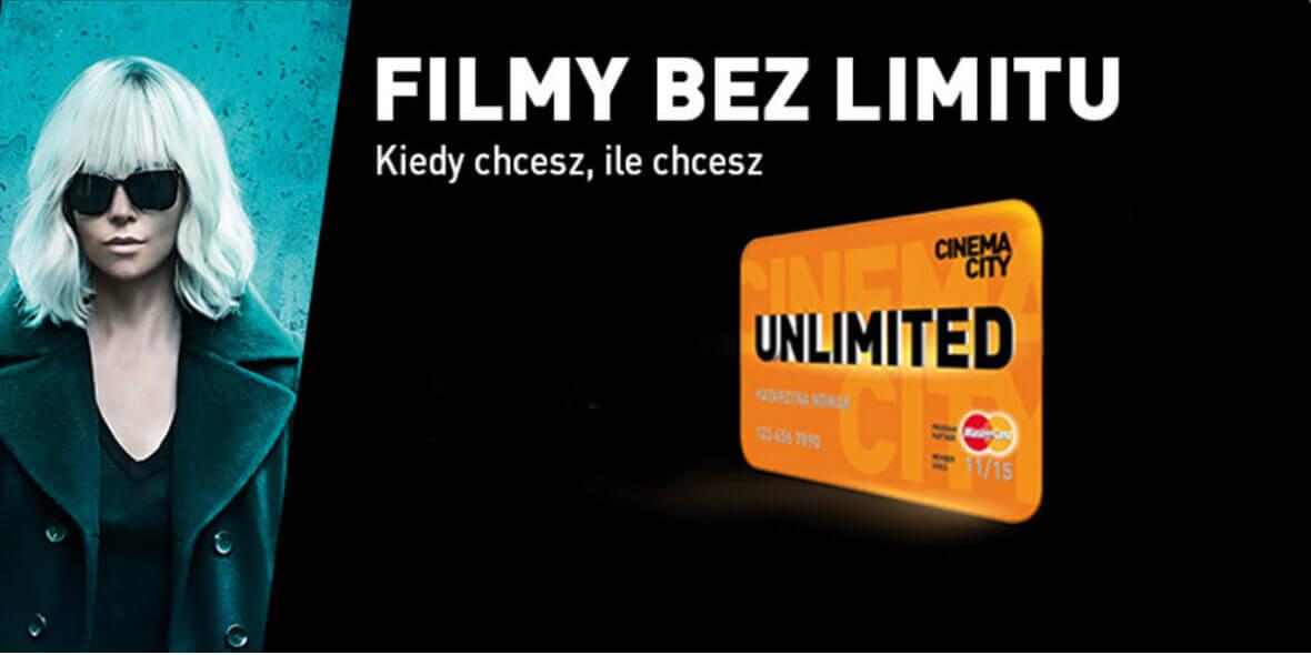 za program Cinema City Unlimited