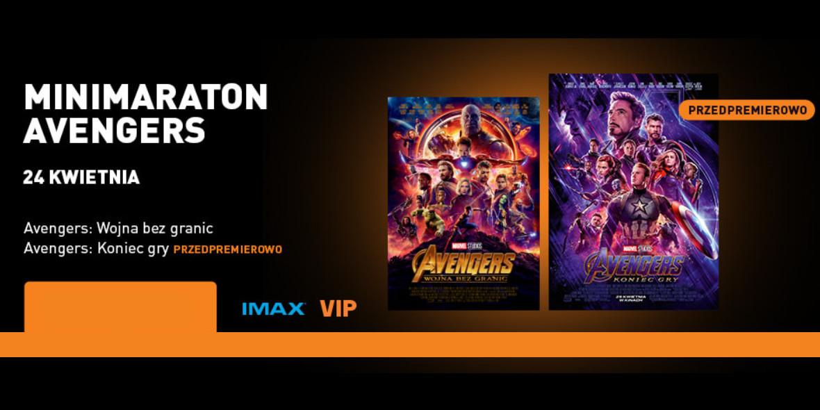 Maraton Avengers w Cinema City
