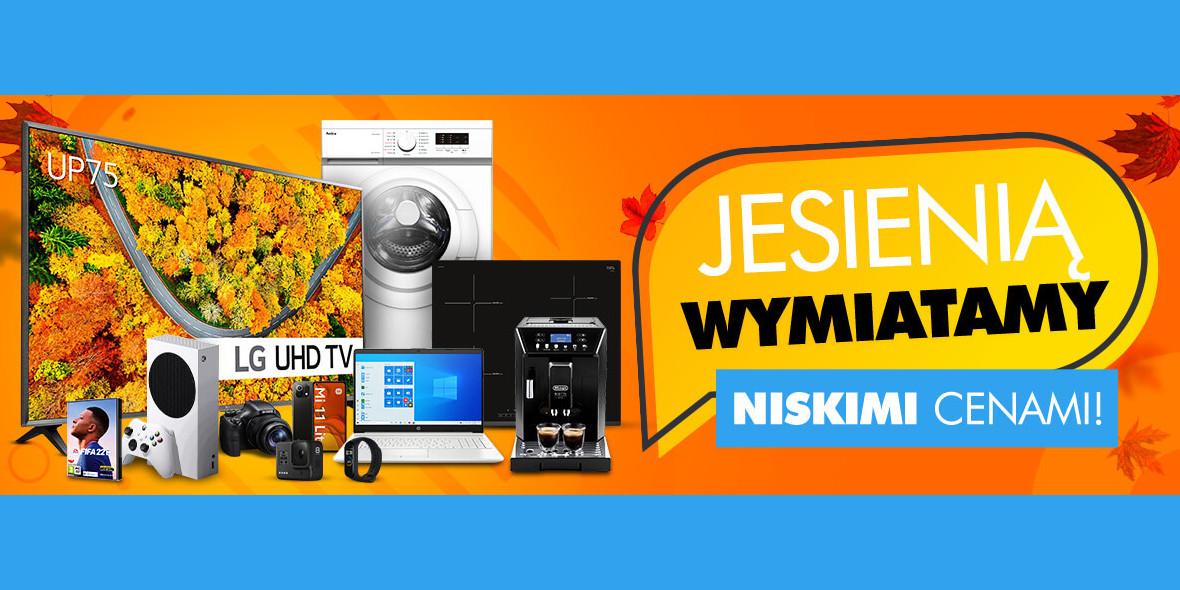 ELECTRO.pl:  Jesienią wymiatamy niskimi cenami 12.10.2021