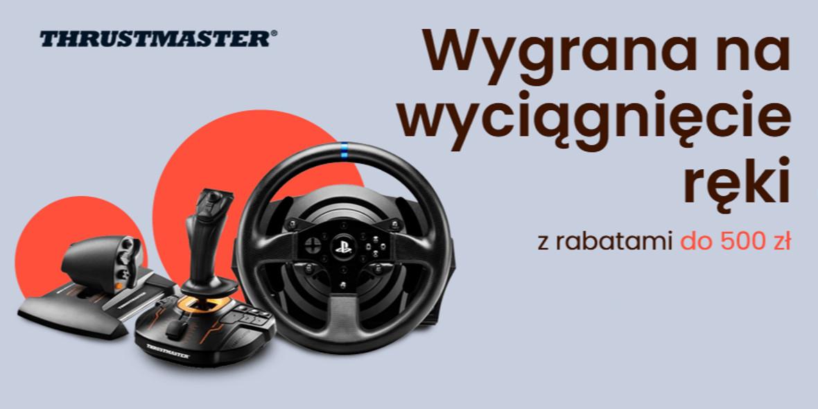 morele.net: Do -500 zł za wybrane produkty marki Thrustmaster 20.09.2021
