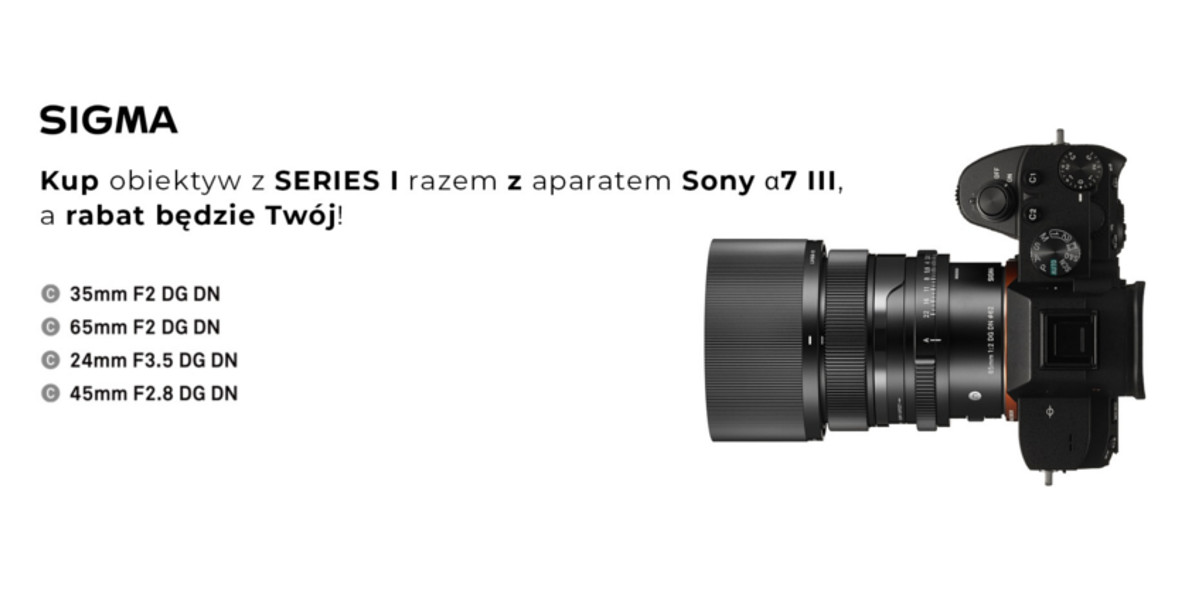 FotoForma: Rabat przy zakupie aparatu Sony