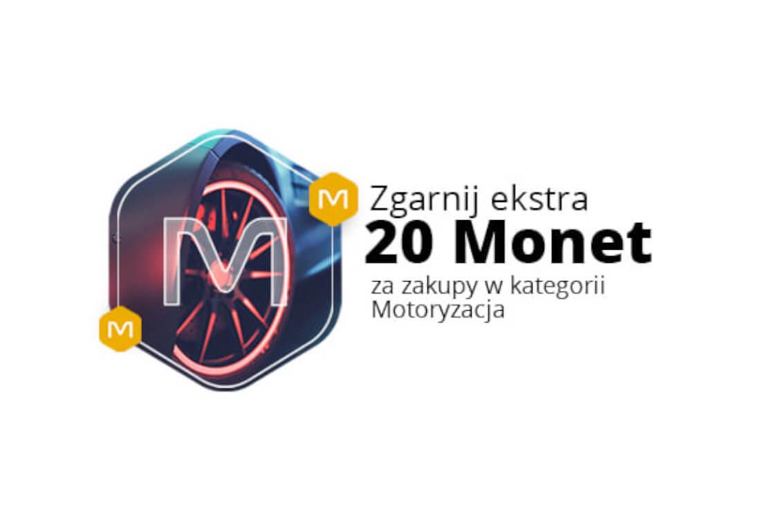 : +20 Monet za zakupy w kategorii Motoryzacja