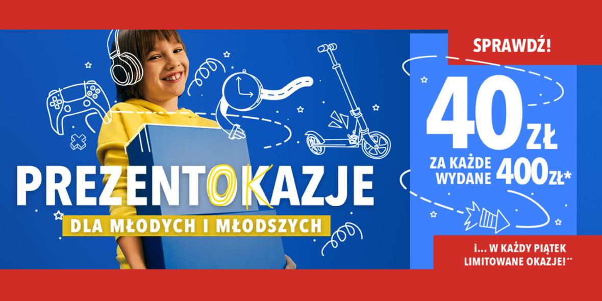 RTV EURO AGD: -40 zł za każde wydane 400 zł 10.05.2021