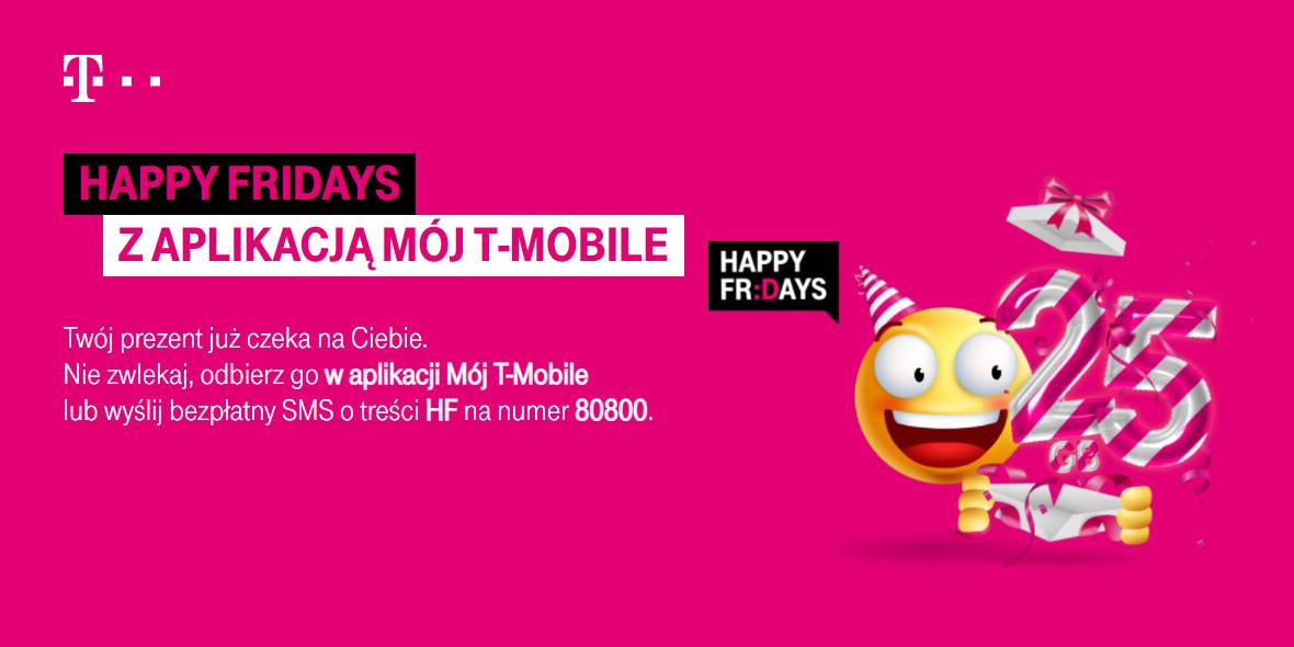 T-Mobile: W prezencie 25 GB od T-Mobile z okazji 25 urodzin 16.09.2021