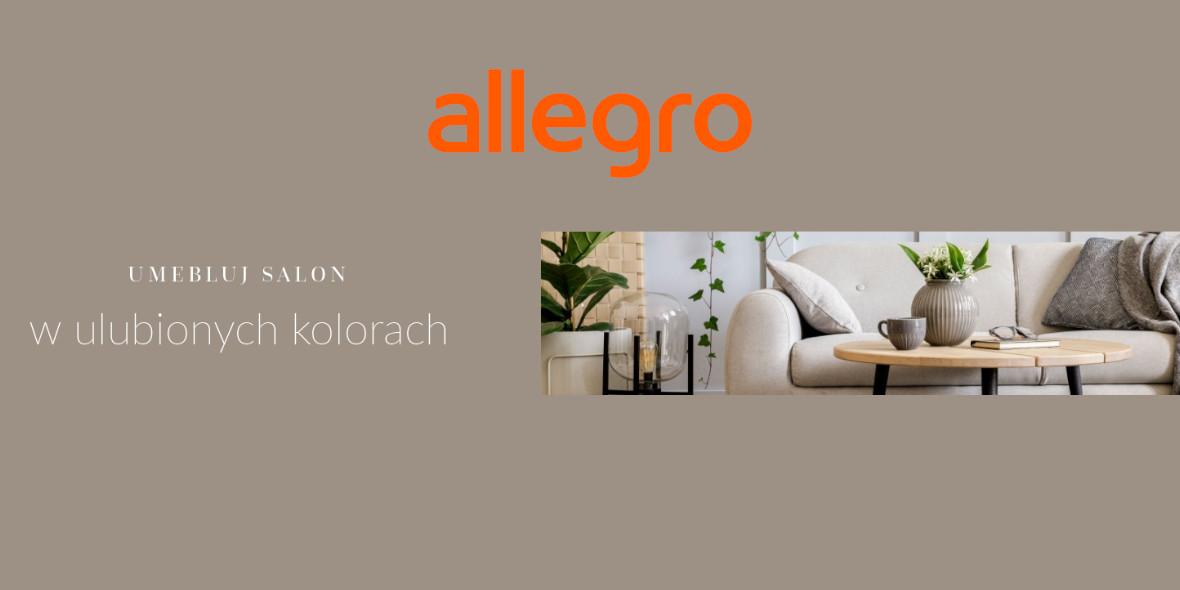 Allegro:  Umebluj salon w  ulubionych kolorach 27.08.2021