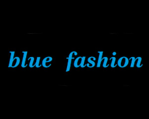 Logo Blue Fashion
