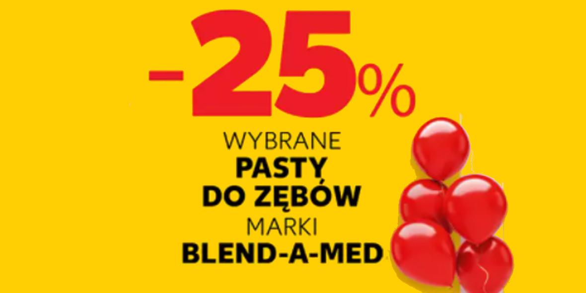 Kaufland: -25% na wybrane pasty do zębów marki Blend-a-med 14.10.2021