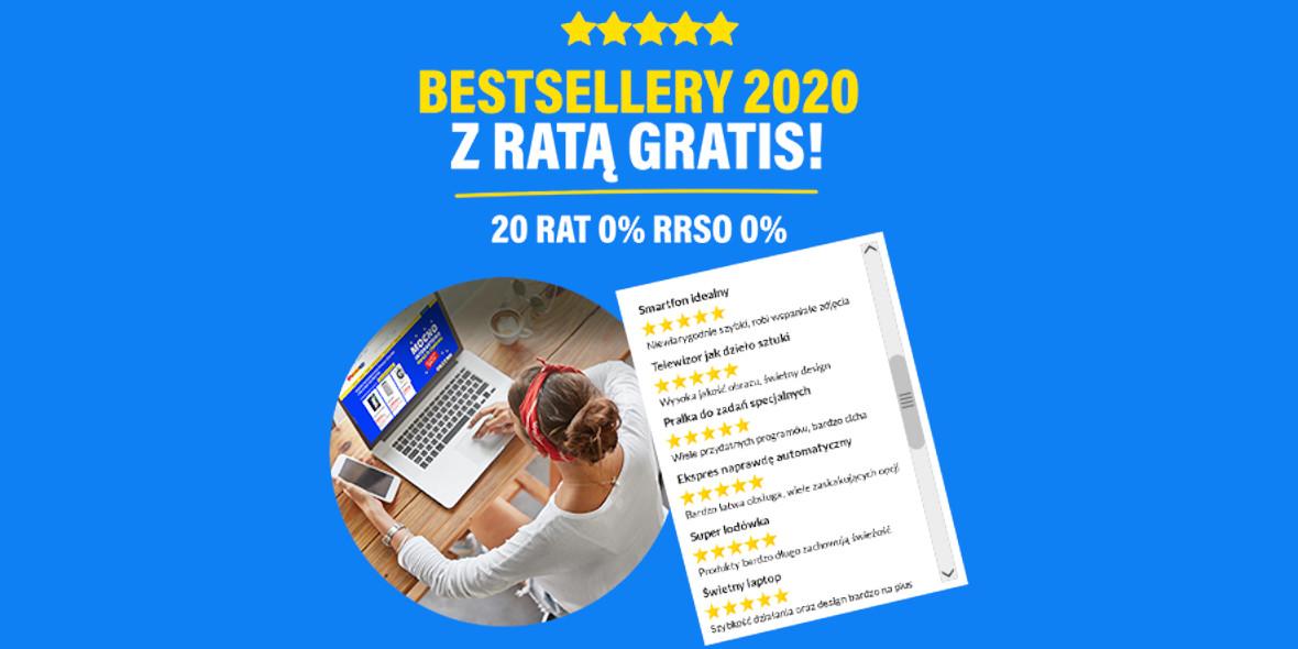 RTV EURO AGD:  Bestsellery 2020 16.01.2021