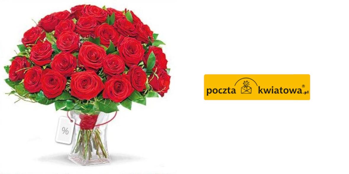 Poczta kwiatowa: -10% za zapisanie się do newslettera 23.08.2021