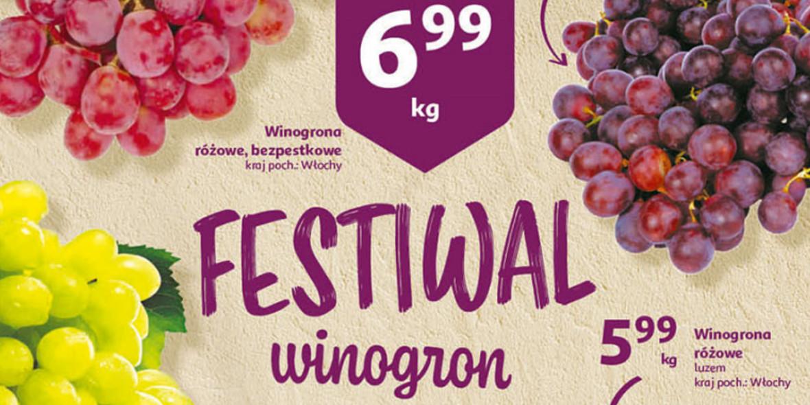 Auchan:  Festiwal winogron w Auchan 17.09.2021