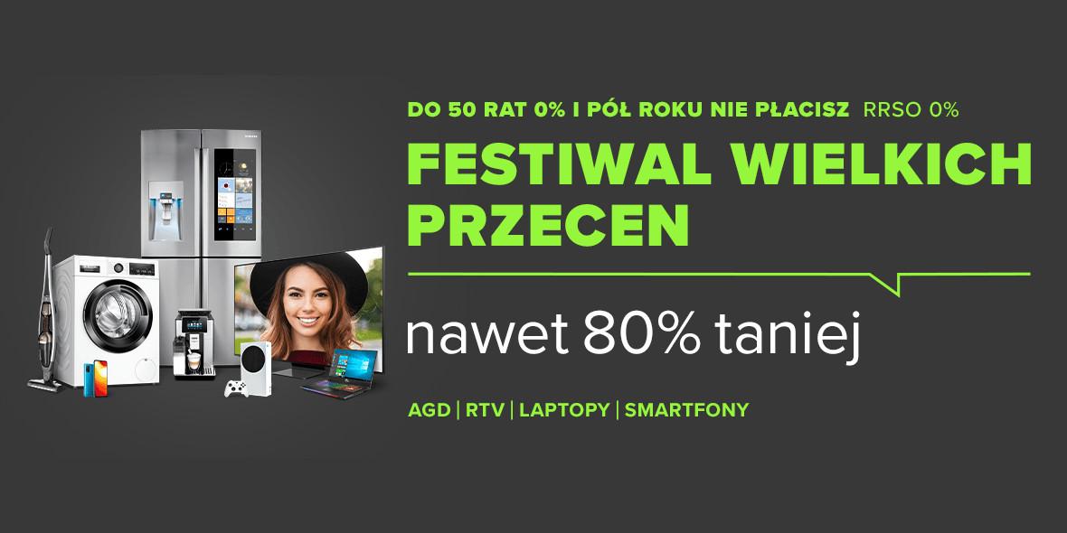 Neonet: Nawet -80% na Festiwalu Wielkich Cen 13.05.2021