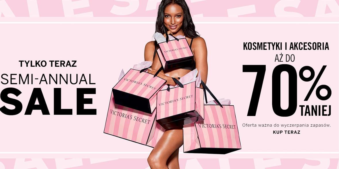 Victoria's Secret: Do -70% na wybrane kosmetyki i akcesoria 19.01.2021