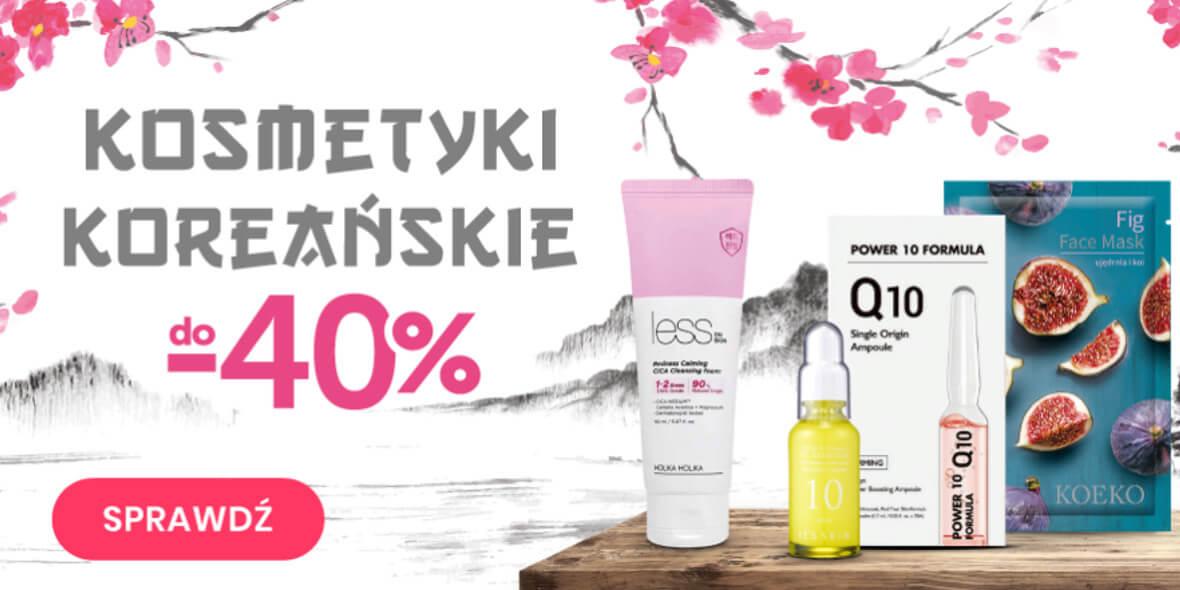 Kontigo: Do -40% na kosmetyki koreańskie 01.01.0001