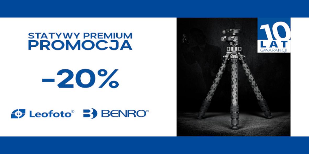 FotoForma: -20% na produkty Leofoto i Benro 03.09.2021