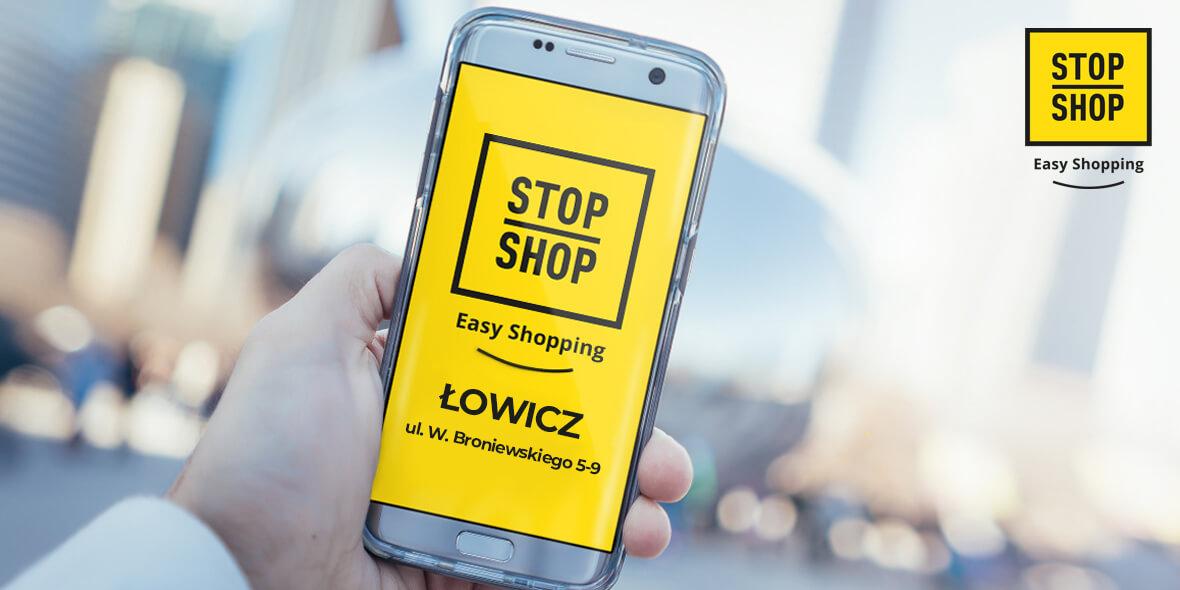 STOP SHOP Łowicz:  Zapraszamy do STOP SHOP Łowicz 09.02.2021