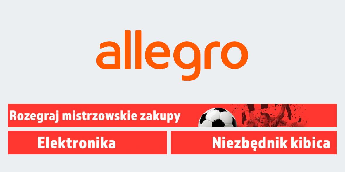 Allegro:  Rozegraj Mistrzowskie Zakupy! 10.06.2021