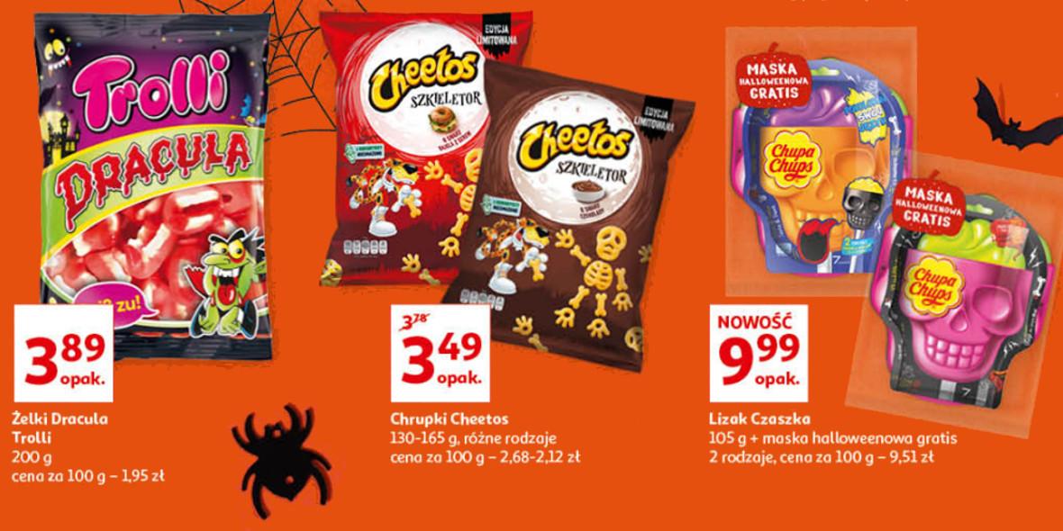 Auchan:  Słodycze na Halloween 21.10.2021
