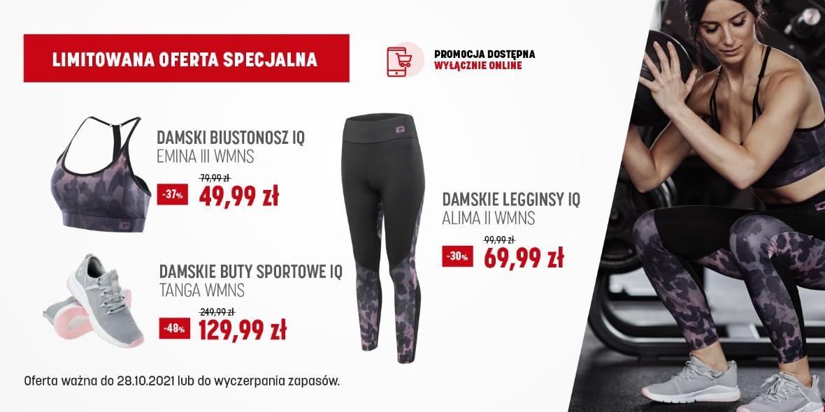 Martes Sport: Do -48% na sprzęt i odzież fitness 24.10.2021