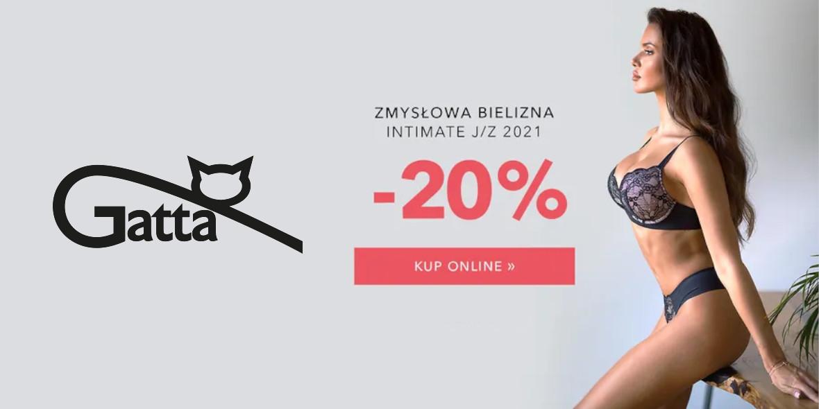 Gatta: Kod: -20% na bieliznę z nowej kolekcji 11.10.2021