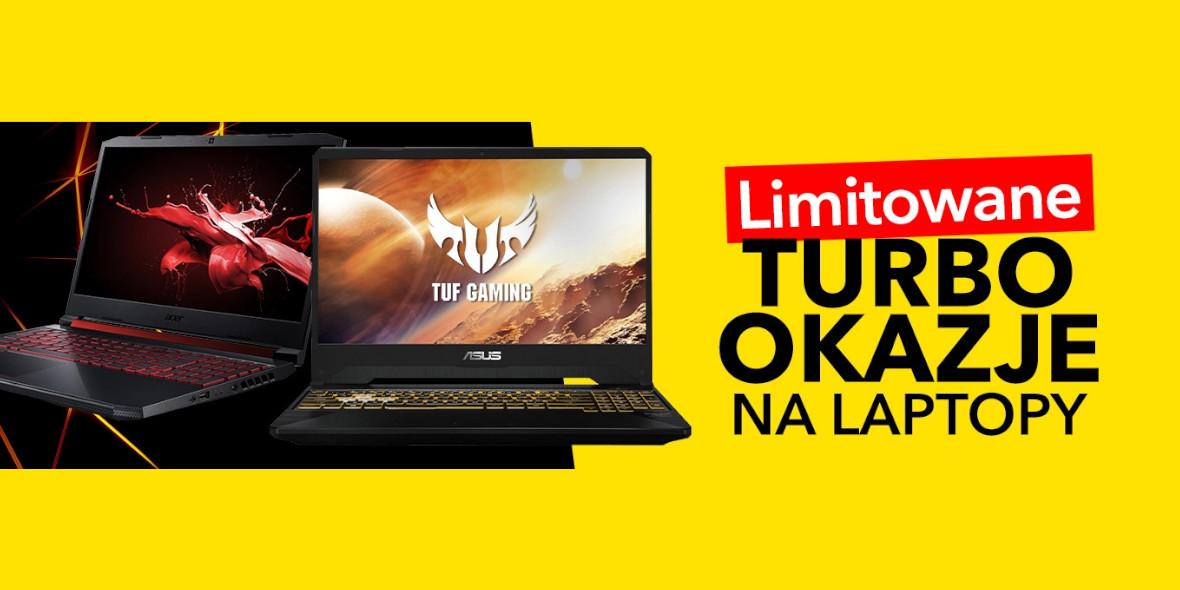 Media Expert:  Turbo Okazje na laptopy 17.05.2021