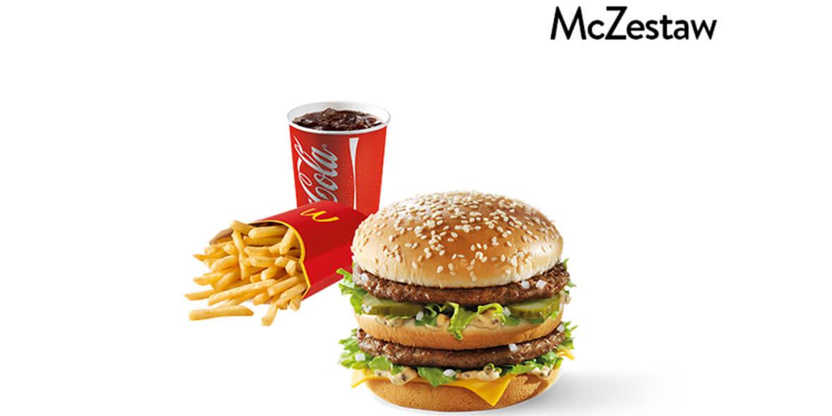 McDonald's: 13 zł za McZestaw 29.09.2021