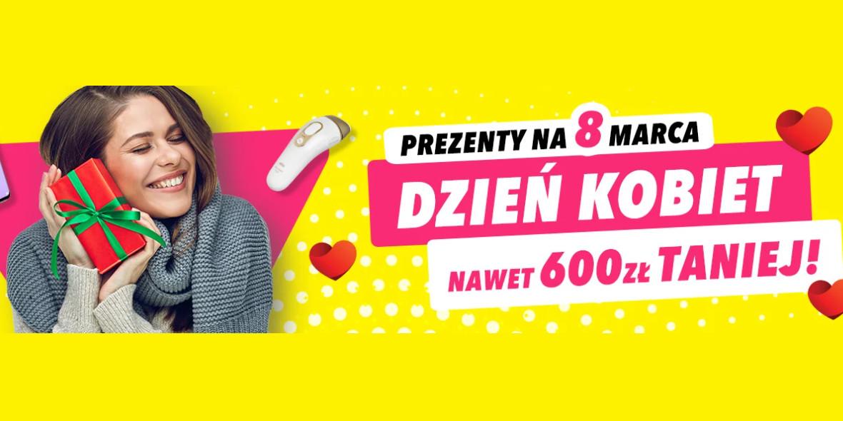 Media Expert: Do -600 zł na prezenty na Dzień Kobiet 26.02.2021