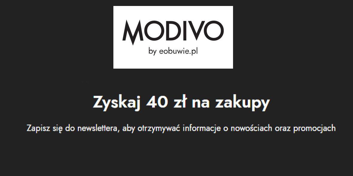 Modivo: Zyskaj 40 zł na zakupy