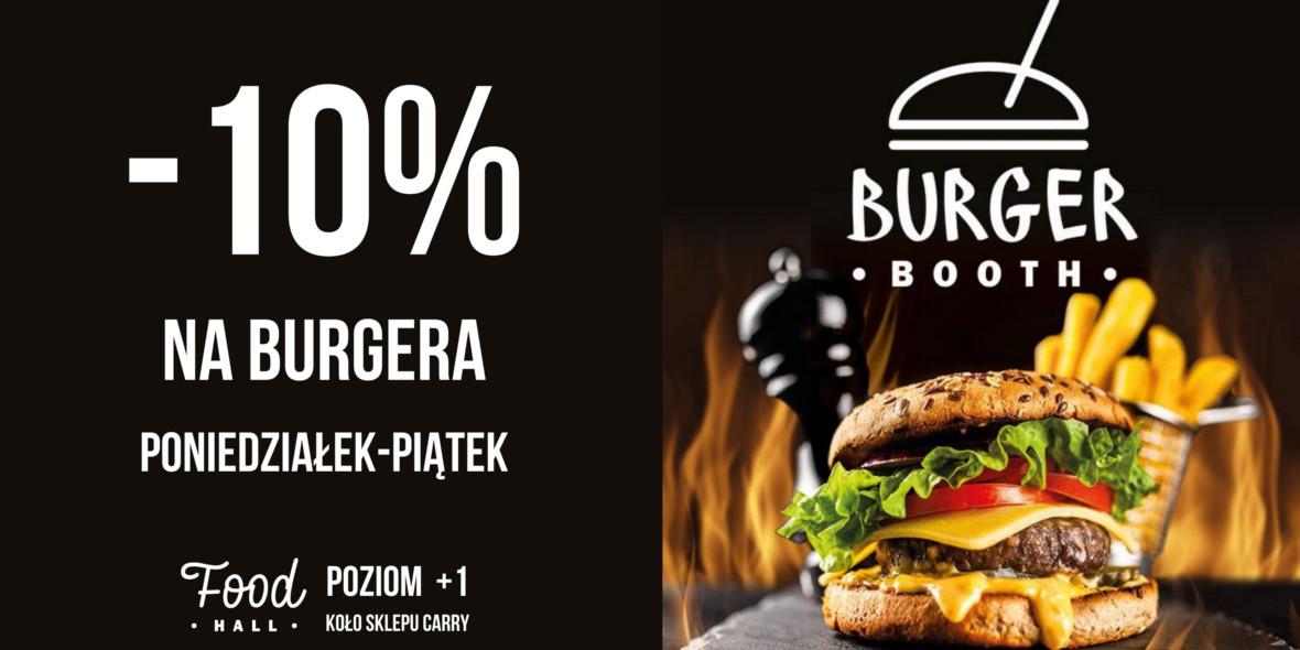BURGER BOOTH: -10% na burgery w Burger Booth