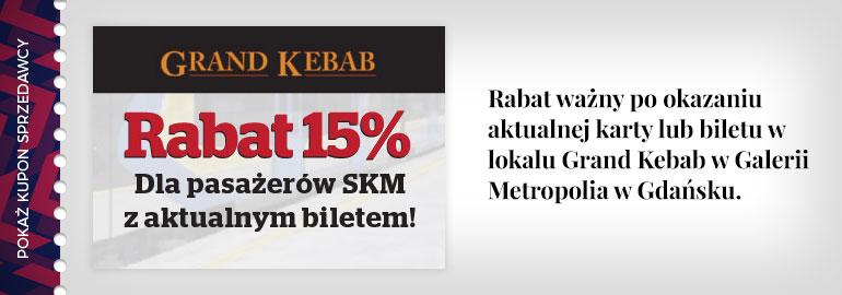-15% dla pasażerów SKM