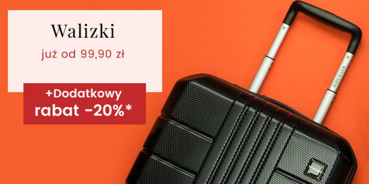 Wittchen: Od 99,90 zł za walizki i dodatkowe -20% z kodem 17.11.2020