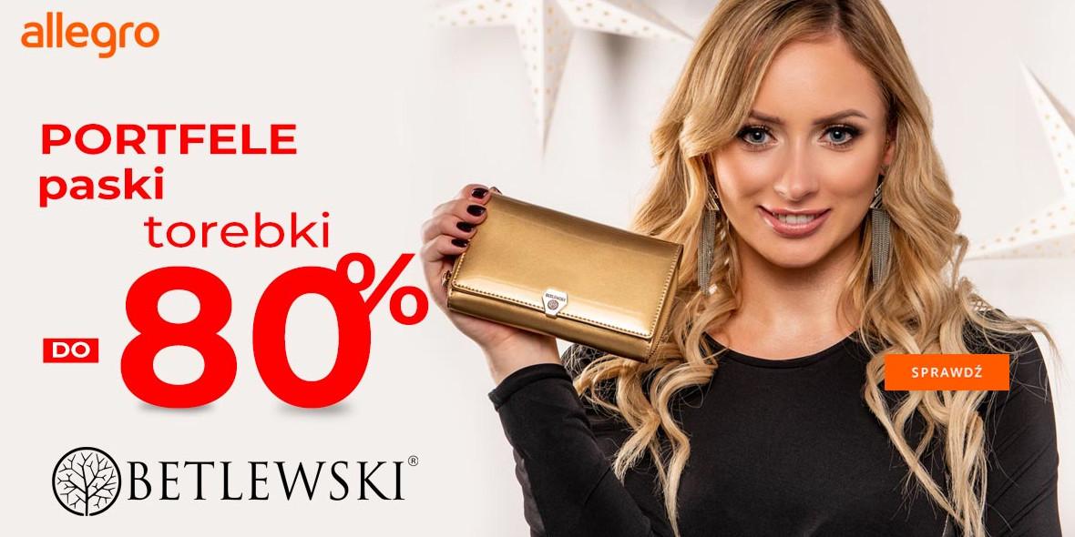 Allegro.pl: -80% na galanterię + 10 zł zwrotu z goodie 08.01.2021