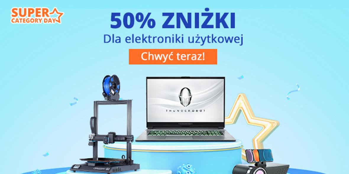 Banggood: Do -50% na elektronikę użytkową 11.05.2021