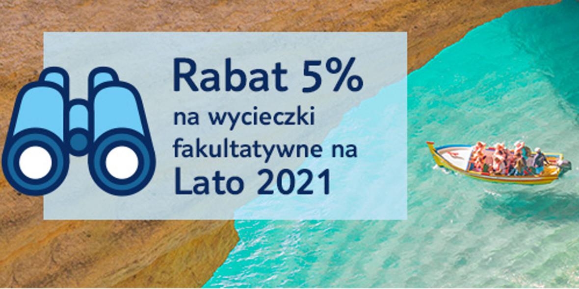 TUI Centrum Podróży: Kod: -5% na wycieczki fakultatywne