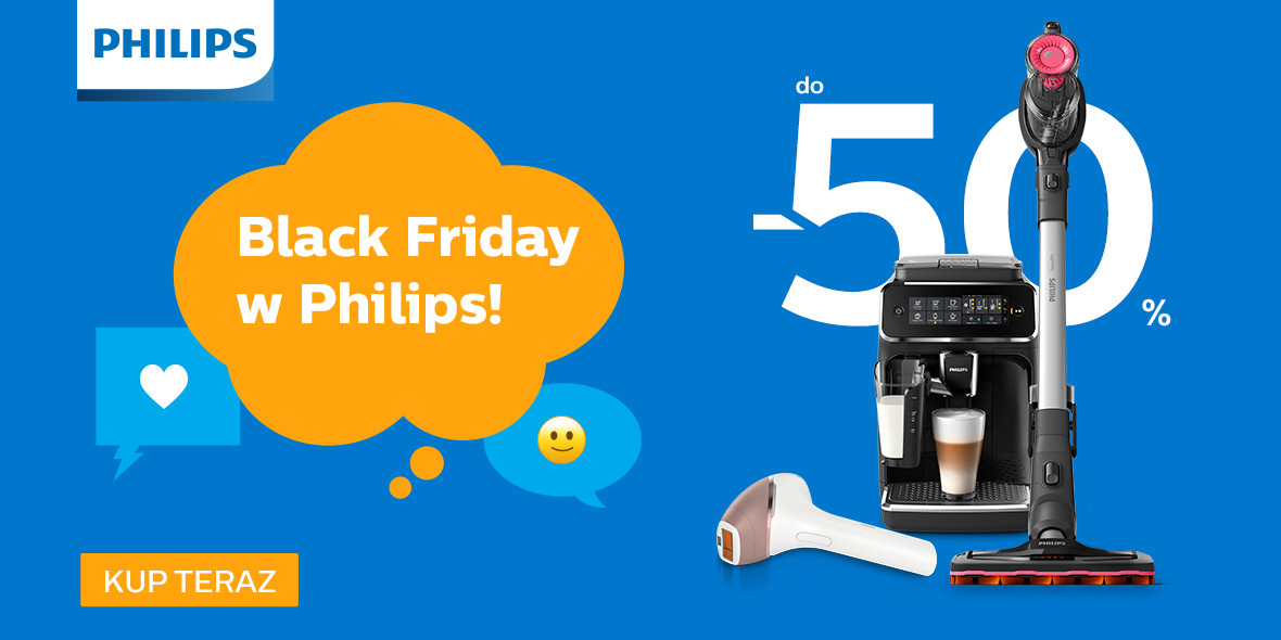 Philips: Do -50% na produkty Philips