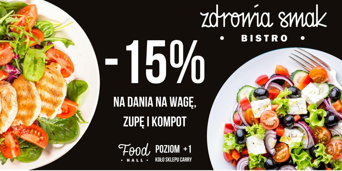 ZDROWIA SMAK: -15% na dania na wagę, zupę i kompot