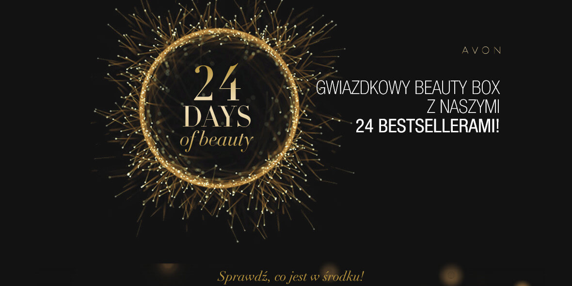 za kalendarz adwentowy Beauty Box