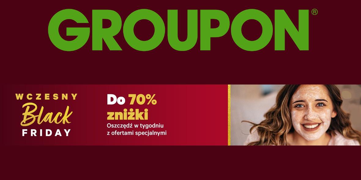Groupon.pl: Do -70% na wybrane oferty specjalne 23.11.2020