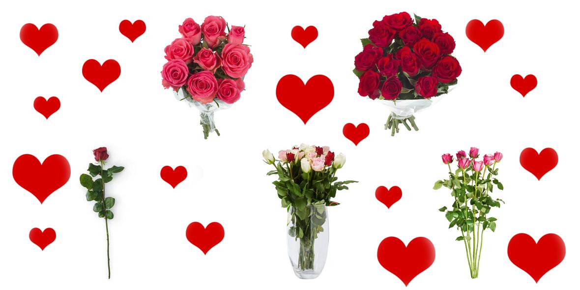 za różę