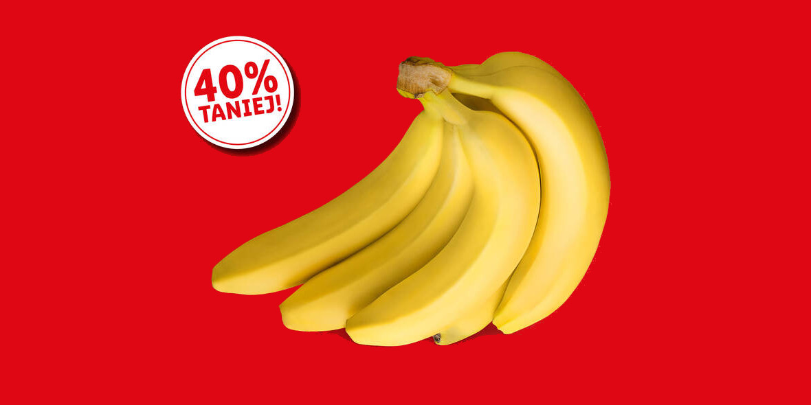 Lidl: -40% na banany 05.08.2021
