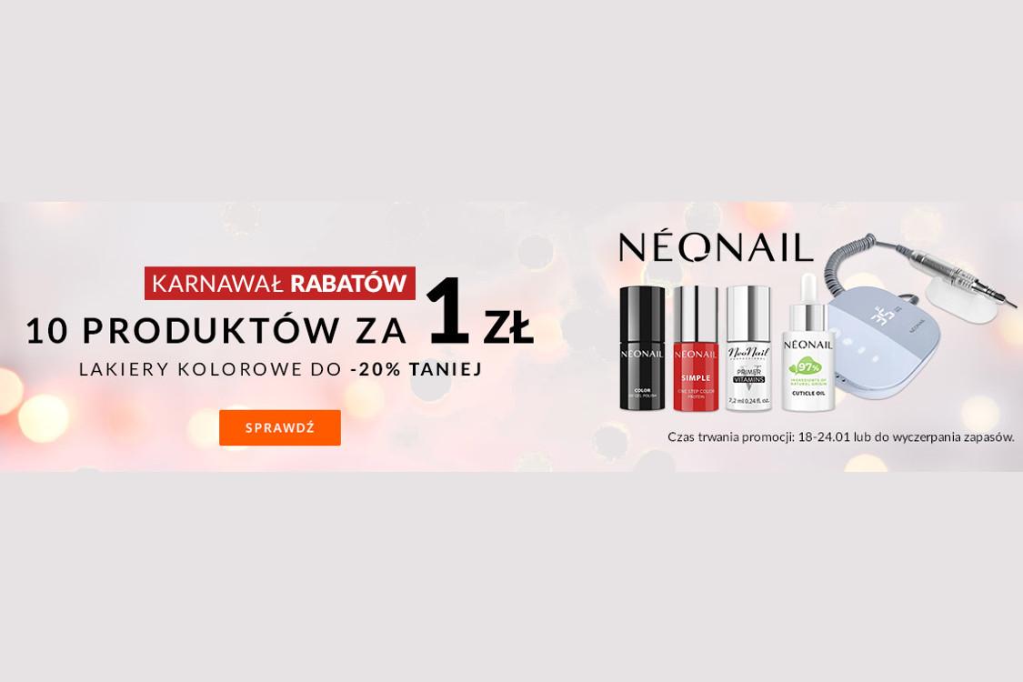 Allegro.pl:  Karnawał rabatów z NEONAIL 01.01.0001