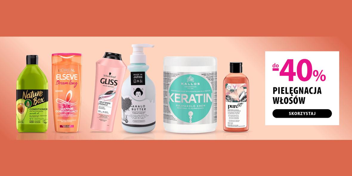 hebe: Do -40% na produkty do pielęgnacji włosów 21.01.2021